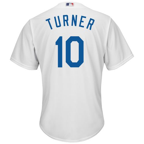 Majestic Men's Los Angeles Dodgers Justin Turner #10 Cool Base Replica Jersey - view number 1