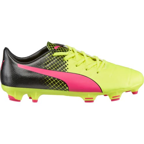 PUMA Kids' evoPOWER 1.3 Tricks FG JR Soccer Cleats