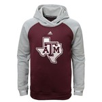 adidas™ Kid's Texas A&M University Modern Varsity Hoodie