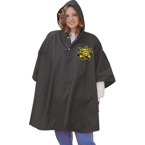 Storm Duds Men's Wichita State University Slicker Heavy Duty PVC Poncho
