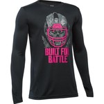 Under Armour® Boys' Power in Pink Built for Battle Long Sleeve T-shirt