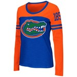 Colosseum Athletics™ Women's University of Florida Hornet Football Long Sleeve T-shirt