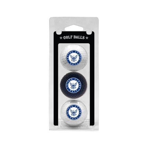 Team Golf US Naval Academy Golf Balls 3-Pack