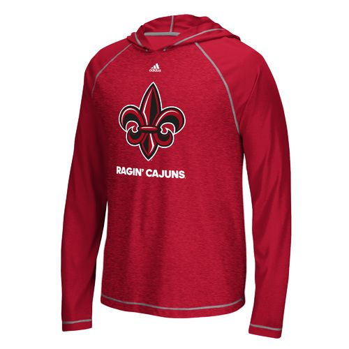 adidas™ Men's University of Louisiana at Lafayette Loyal Fan Hoodie