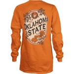 Three Squared Juniors' Oklahoma State University Maya Long Sleeve T-shirt