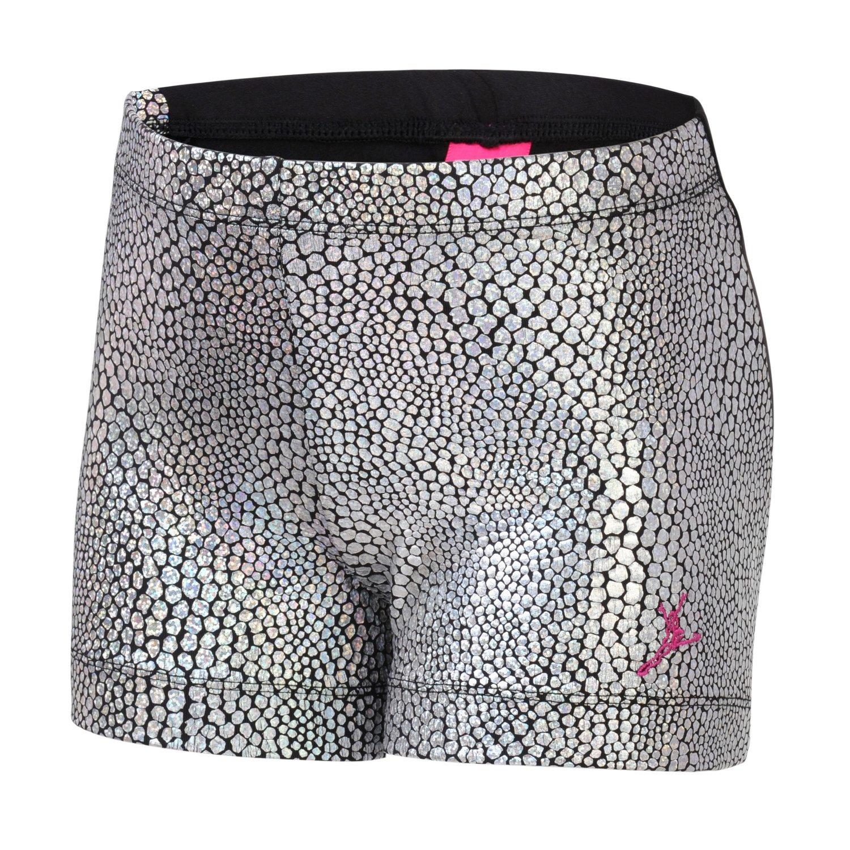 Capezio® Girls' Future Star Mosaic Foil Front Glitter