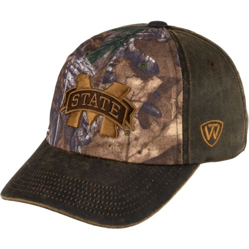 Top of the World Men's Mississippi State University Driftwood Cap