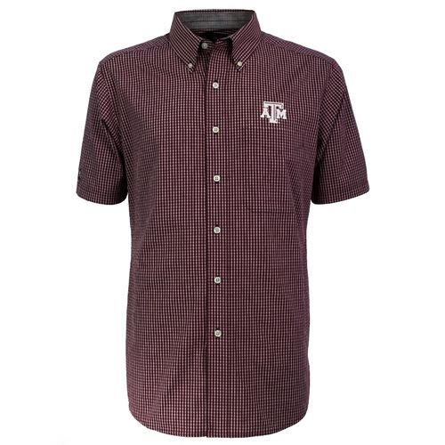 Antigua Men's Texas A&M University League Dress Shirt