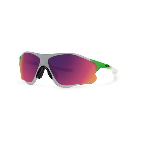 Academy Sports Sunglasses  888392199942 oakley men s evzero path sunglasses green red
