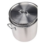 Outdoor Gourmet 36 qt. Aluminum Pot with Strainer - view number 2