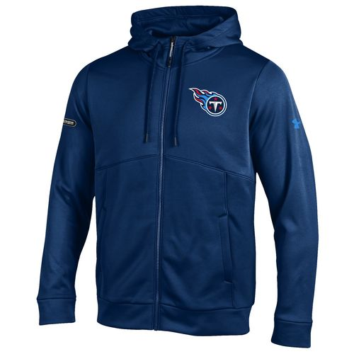 Under Armour™ NFL Combine Authentic Men's Tennessee Titans Armour® Fleece Full Zip Hoo