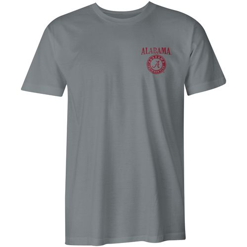 Image One Men's University of Alabama Comfort Color Vintage Poster Short Sleeve T-shirt - view number 2