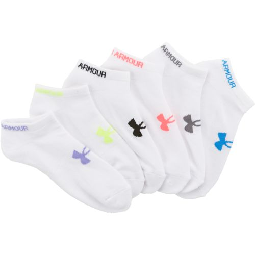 Under Armour Women's Reflective Quarter Running Socks - view number 3