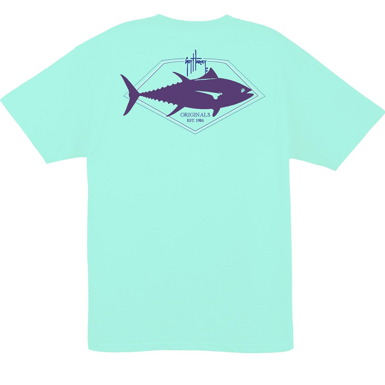 Guy Harvey Men's Finner Short Sleeve T-shirt