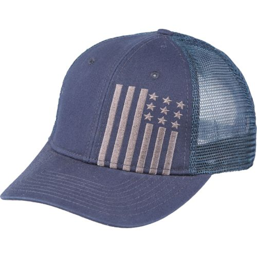 Academy Sports + Outdoors™ Men's American Flag Trucker Hat
