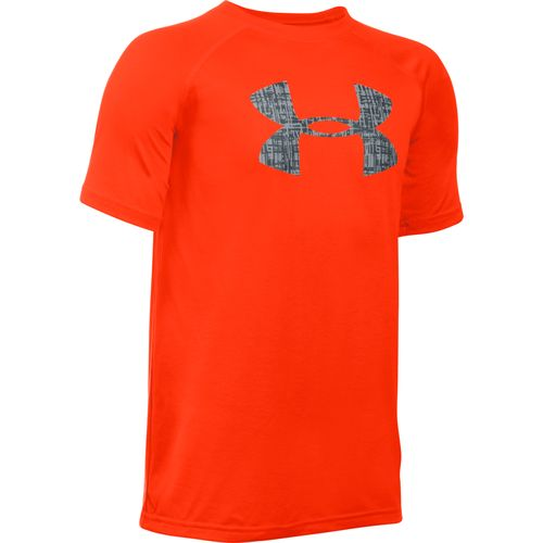 Display product reviews for Under Armour Boys' UA Tech Logo T-shirt