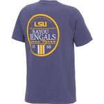 Image One Men's Louisiana State University Simple Circle Lines T-shirt