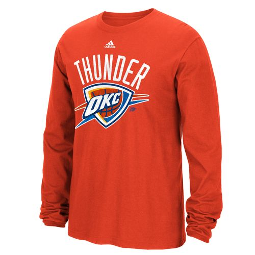 adidas™ Men's Oklahoma City Thunder Cut the Net Long Sleeve T-shirt