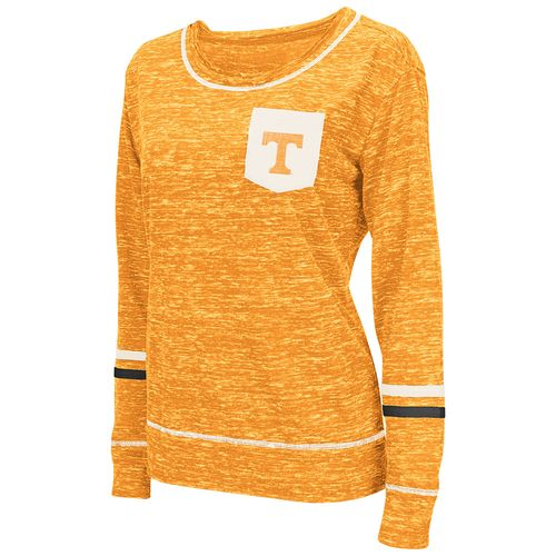 Colosseum Athletics™ Women's University of Tennessee Homies Raw Edge Long Sleeve Shirt