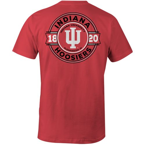 Image One Men's Indiana University Rounds Comfort Color T-shirt