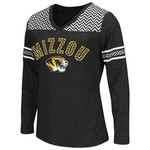 Colosseum Athletics™ Girls' University of Missouri Cupie Long Sleeve Shirt