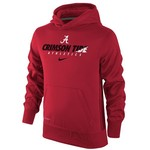 Nike Boys' University of Alabama Therma-FIT KO Hoodie