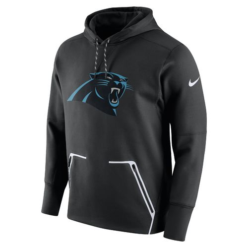 Nike Men's Carolina Panthers Vapor Speed Fleece Hoodie