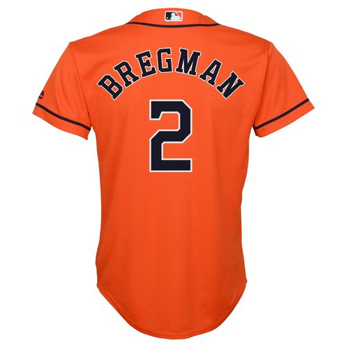 Majestic Boys' Houston Astros Alex Bregman #2 COOL