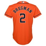 Majestic Boys' Houston Astros Alex Bregman #2 COOL BASE® Jersey