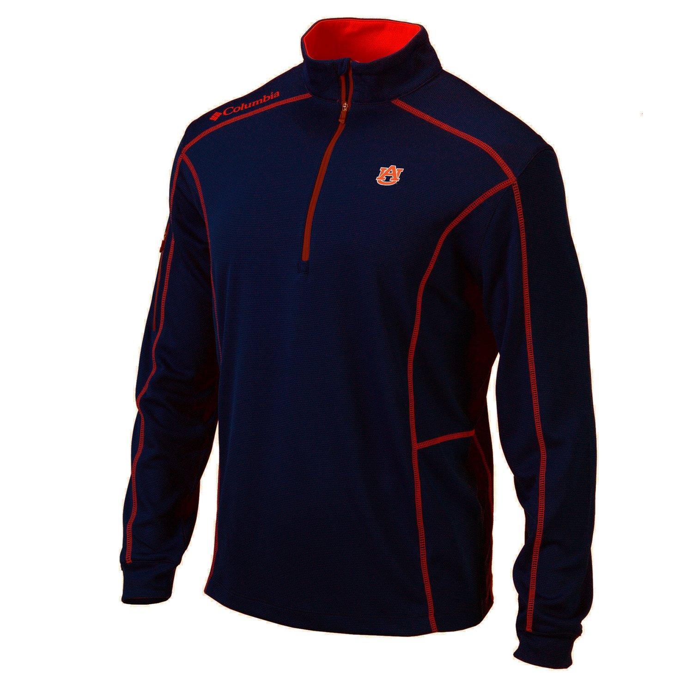 Columbia Sportswear™ Men's Auburn University Shotgun 1/4 Zip