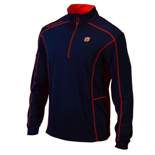 Columbia Sportswear™ Men's Auburn University Shotgun 1/4 Zip Pullover