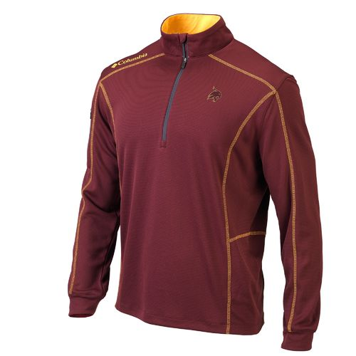Columbia Sportswear™ Men's Texas State University Shotgun 1/4 Zip Pullover