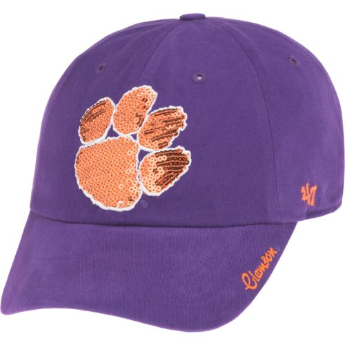 '47 Clemson University Women's Sparkle Team Color Clean Up Cap