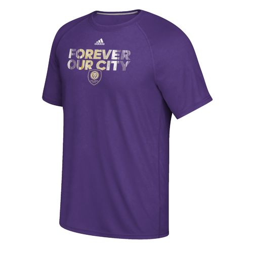 adidas™ Men's Orlando City SC climalite® Ultimate Short Sleeve T-shirt - view number 1