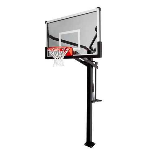 Lifetime Mammoth 60 in Inground Tempered-Glass Basketball Hoop