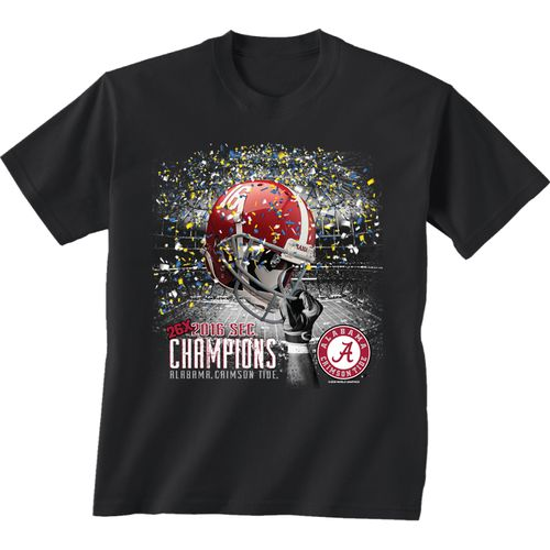 New World Graphics Boys' University of Alabama 2016 SEC Champions T-shirt