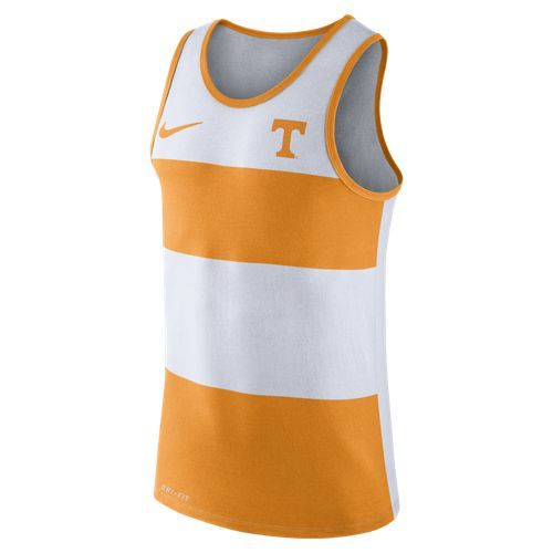 Nike™ Men's University of Tennessee Stripe Tank Top