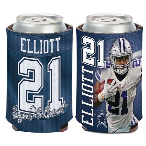 WinCraft Dallas Cowboys Ezekiel Elliott 12 oz. Can Cooler