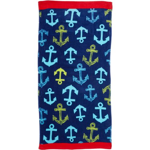 O'Rageous Kids' Nautical Beach Towel