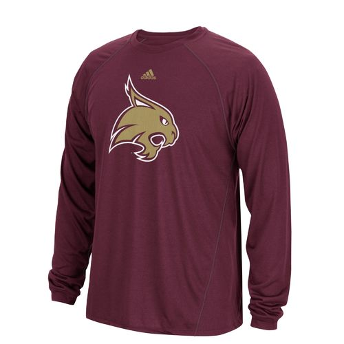 adidas Men's Texas State University Sideline Spine T-shirt