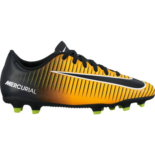 Nike Boys' Junior Mercurial Vortex III Firm-Ground Soccer Cleats