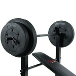Sunny Health & Fitness 100 lbs Weight/Bench Set - view number 4