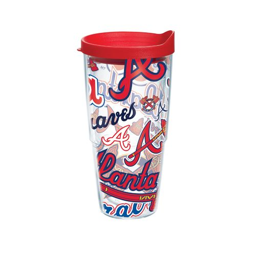 Tervis Atlanta Braves Allover 24 oz Tumbler