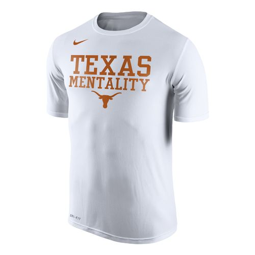 Nike Men's University of Texas Legend Mentality Bench Short Sleeve T-shirt - view number 1