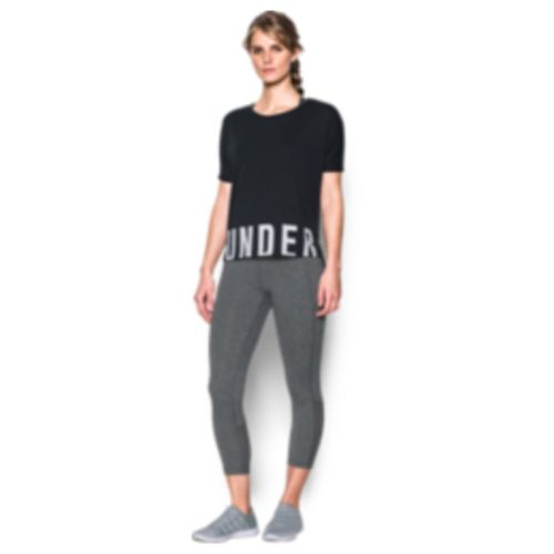Under Armour Women's Wordmark Hem Cropped Top - view number 3