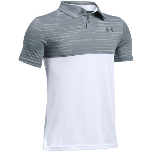 Under Armour Boys' Threadborne Blocked Polo Shirt