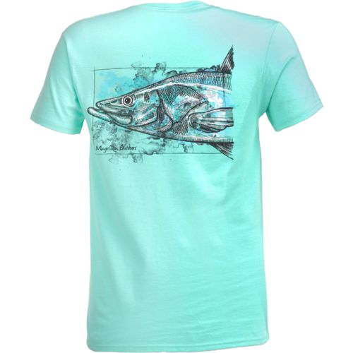 Magellan Outdoors Men's Water Drawn Snook T-shirt - view number 1