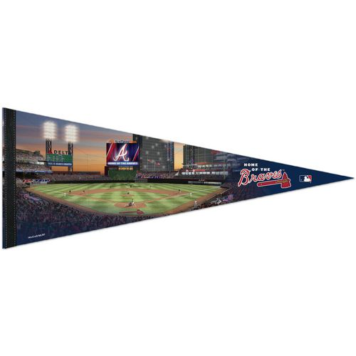 WinCraft Atlanta Braves SunTrust Park 12 in x 30 in Pennant - view number 1