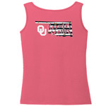 Image One Women's University of Oklahoma Comfort Color Tank Top - view number 1