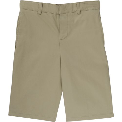 French Toast Boys' Flat Front Adjustable Waist Uniform Short